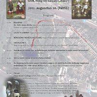 Program augusztus 20-ra: Folyami Örökség Nap, Szob