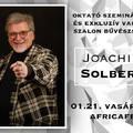 Joachim Solberg szeminárium és Varázs-szalon bűvészshow 2018.01.21.
