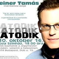 Új Breiner Tamás est premier: október 16.