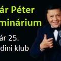 Sugár Péter szeminárium pénteken 19:00-tól a Corodiniben