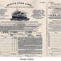 Ilyen volt egy jegy a Titanic-ra (1912)