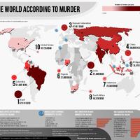 A Föld gyilkosságtérképe