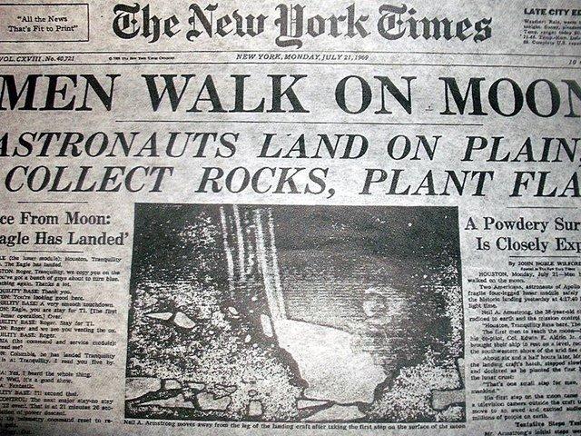 Leszállás a Holdon - 1969. július 20.