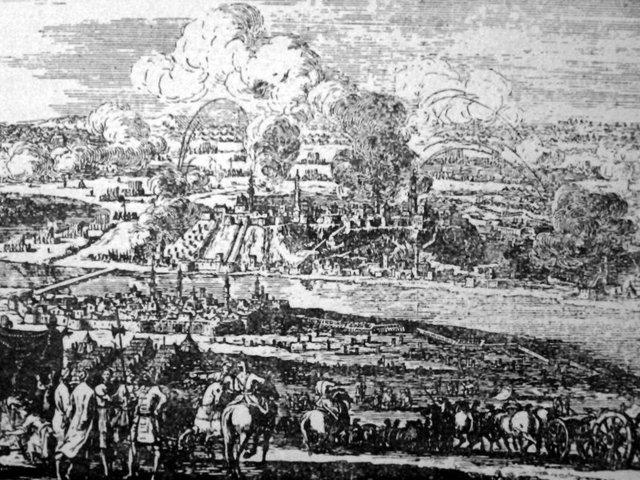 Buda ostroma, 1541