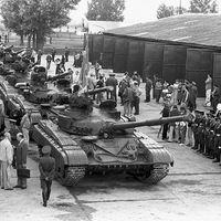 A szovjet megszállás vége