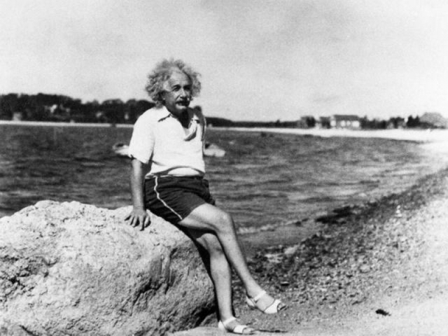 Albert Einstein üzenete az utókornak