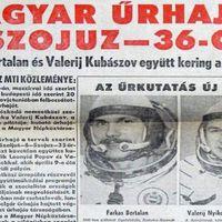 Az első magyar az űrben