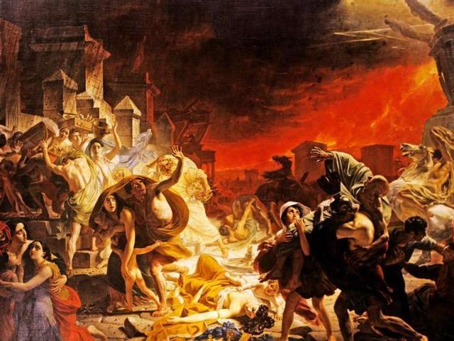 Pompeii pusztulása