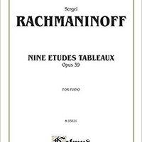 `INSTALL` Etudes Tableaux, Op. 39 (Kalmus Edition). CUARTO features energia todos wzoru traves Linux Lansdown