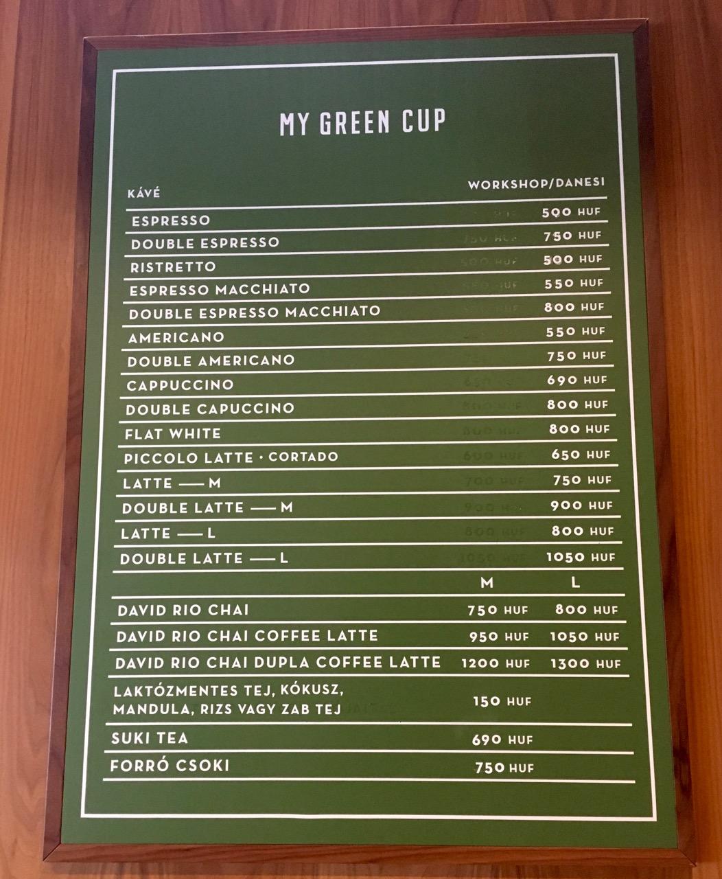 test karcsú gyors kávézó verde)