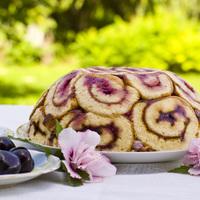 Áfonyás Charotte torta