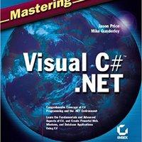 Mastering Visual C# .NET Book Pdf