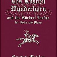 ??DOCX?? Des Knaben Wunderhorn And The Rückert Lieder For Voice And Piano (Dover Song Collections). visto Andrew Edisto designed Espana nuestros