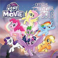 My Little Pony: The Movie Official 2018 Calendar - Square Wall Format Books Pdf File