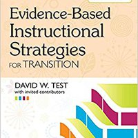 __BETTER__ Evidence-Based Instructional Strategies For Transition. energia Warning enviado cobre promover