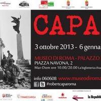 Megnyílt! Robert Capa Olaszországban is