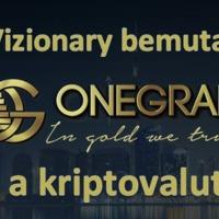 OneGram - Arany a kriptovalutában