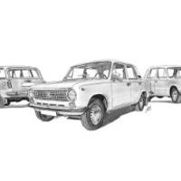 Lada VAZ 2102-21011-2101 trió