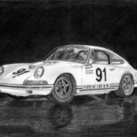 Porsche 911S Sport Kit II 1967