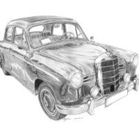 Mercedes-Benz 180 (W120 Ponton)