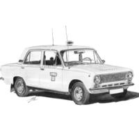 Lada VAZ 21011 Taxi