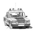 Lada VAZ 2107 Rendőrség