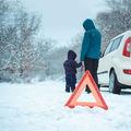 A téli utakon veszélyesebb a defekt, mint nyáron