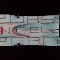 Pofás P1-es Porsche - papírból