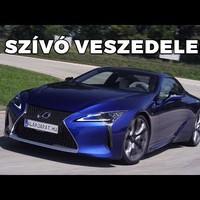 Királykék királykobra - Lexus LC 500