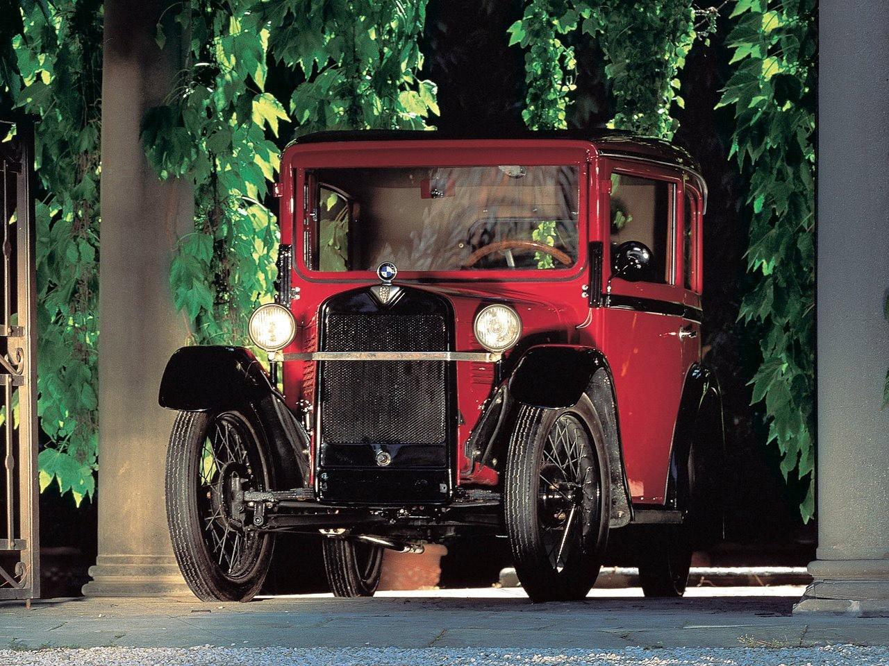 1929: Az első autó BMW emblémával, az Austin 7-es lincencével készülő Dixi 3/15.