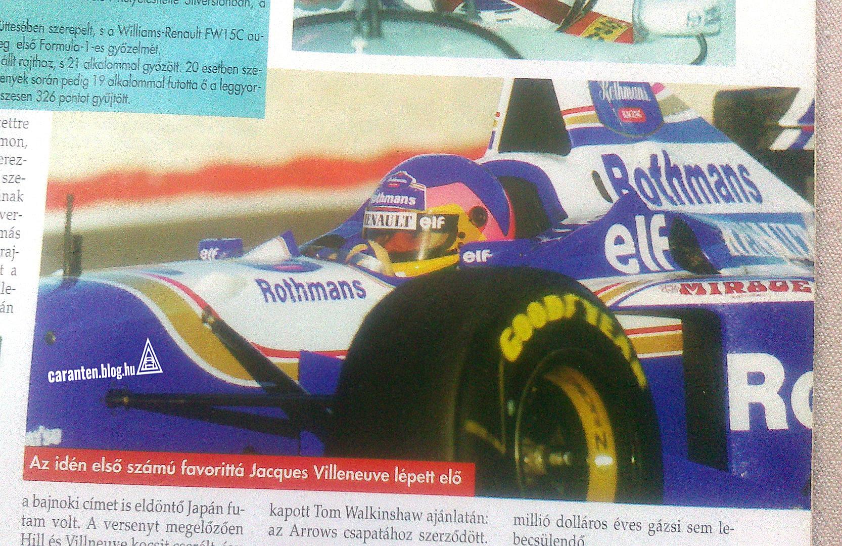 AM jóslat 1997 januárjából.