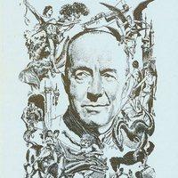 Forrest J. Ackerman látogatása Edgar Rice Burroughs-nál
