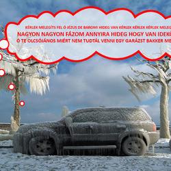 Kell-e hideg időben melegíteni az autót indulás előtt?