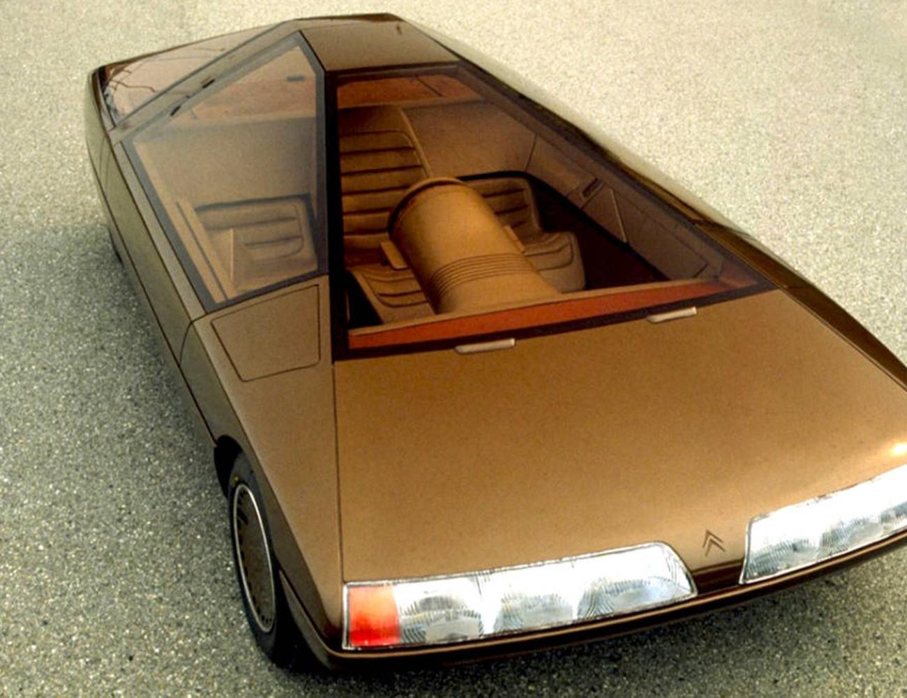 Citroën Karin: egy kerekeken guruló piramis a 80-as évekből