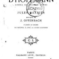 Opera ABC - Hoffmann meséi