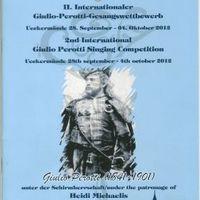 Perotti Gyula emlékezete – énekverseny Ueckermündében