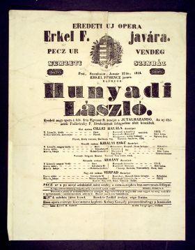 Hunyadi László szinlap1844.jpg