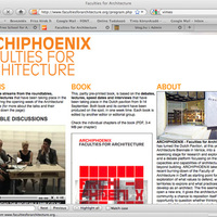 Archiephoenix - Faculties for Architecture