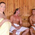 DDFBusty: Lucie Wilde - Lucies Sauna Cum Bath