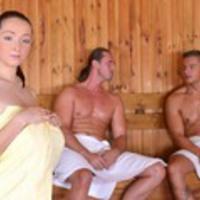 DDFBusty: Lucie Wilde - Lucies Sauna Cum Bath