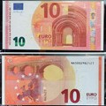 Itt az új 10 eurós bankjegy