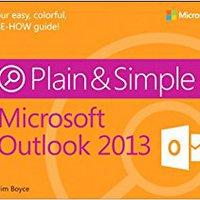 Microsoft Outlook 2013 Plain & Simple Ebook Rar