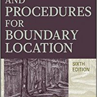 Evidence And Procedures For Boundary Location Ebook Rar
