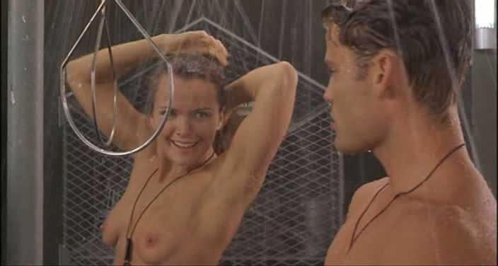 Nackt dina meyer in sarship troopers