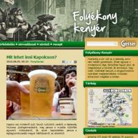 Online sör mindenkinek! Egy éves a Folyékony Kenyér blog