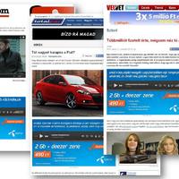 Díjazott natív Telenor kampány