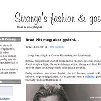 Bemutatkoznak a PS blogok: Strange's fashion & gossip