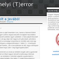 Bemutatkoznak a PS blogok: Munkahelyi (T)error