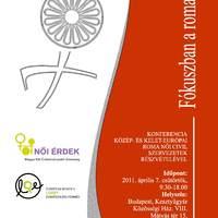 Fókuszban a roma nők - filmvetítés és konferencia