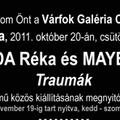 Traumák - kiállításmegnyitó október 20-án